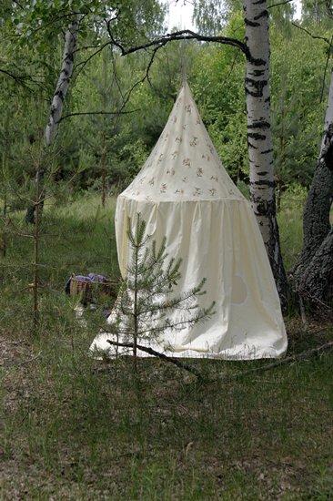 Сшить шатёр для ребёнка своими руками