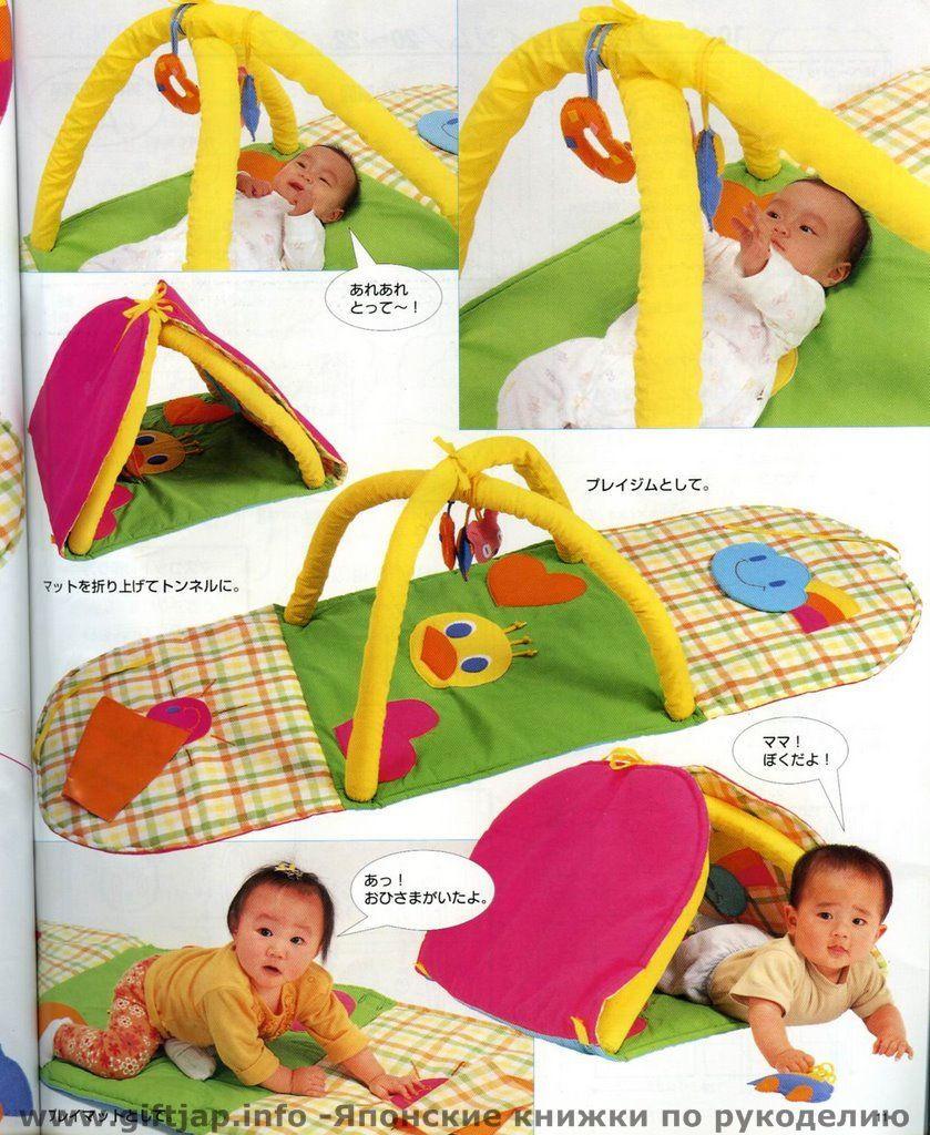 Выкройка развивающий коврик для детей своими руками 72