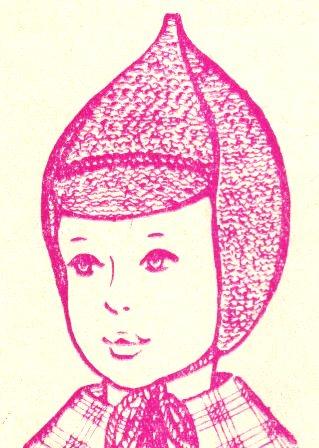 Описание: вязаные спицами шапки для мальчика.