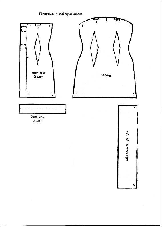 Одежда для барби сшить своими руками выкройки